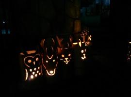 竹の明かり